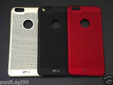 Loopeo Hard Back Shell Case Cover Net Mesh Dotted For Apple Iphone 6 6S 4.7""