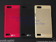 Loopeo Hard Back Shell Case Cover Net Mesh Dotted For Oppo Neo 7 /Oppo A33