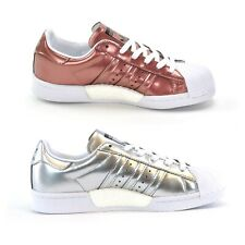 ADIDAS SUPERSTAR BOOST W - WOMENS TRAINERS - SILVER or COPPER - BRAND NEW