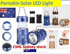 Portable Rechargeable LED Solar Camping Light Multi-functional Flashlights