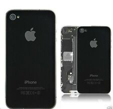 Back Glass Rear Plate Panel For iPhone 4 / 4S + Free Transparent Back Cover Case