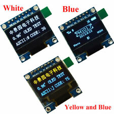"""0.96in I2C IIC SPI Serial 128X64 OLED LCD LED Display Module 0.96"""" for Arduino D"""