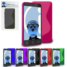 TPU S Line WAVE Slim Thin Gel Case Cover for Samsung i8160 Galaxy Ace 2
