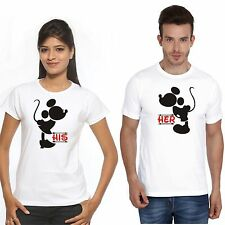 Osiyankart his her mickey Minnie couple t shirt 4 all cute couples in love