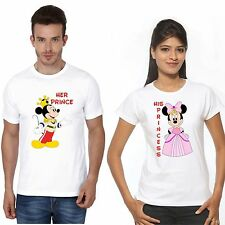 Osiyankart his prince her princess mickey Minnie couple t shirt 4 all cute coupl