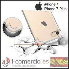 Funda Carcasa Silicona TPU Gel ANTIGOLPES SUPER CLARO Apple Iphone 7 4,7 / Plus