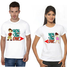 Osiyankart Couple T Shirt Hum Tum 4 all hot & sexy Couples crazy in love
