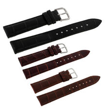 Classic Design Leather Watch Strap Band Replacement with Spring Bars F Man/Woman