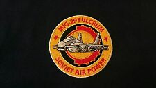 RUSSIAN AIR FORCE MIG-29 FULCRUM POLO SHIRT