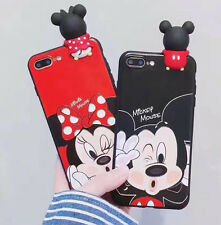 Disney Mickey & Minnie Etui Coque Housse Pour iPhone 6/6SP 7/7P Mobile