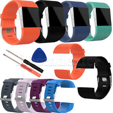 TPE Wrist Band Strap Bracelet for Fitbit Surge GPS Smart Tracker Watch w/Tool
