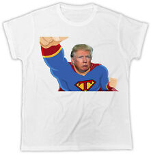 Trump T Shirt Superman American Patriot Super Hero Novelty Unisex Tshirt