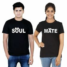 Osiyankart Black couple t shirt Soul Mate Disney 4 hot & sexy couples in lo