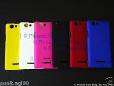 Premium Hard Back Shell Cover Case  Matte For Xolo A500s