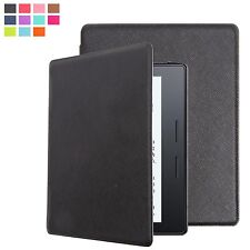 ULTRA SOTTILE CUSTODIA COVER PELLE PU PER AMAZON KINDLE OASIS + PROTEGGI SCHERMO