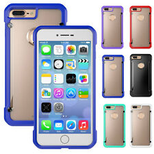 Shockproof Ultra Thin Hybrid Soft TPU Bumper Hard Case Cover for iPhon