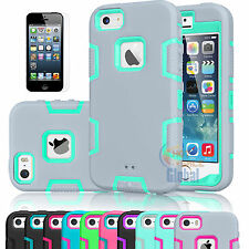 Shockproof Hybrid Rubber Rubber Matte Hard Cover Case Skin For iPhone