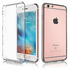 Slim Transparent Crystal Clear Back Hard TPU Case Cover for iPhone 6 6