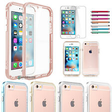 Slim Premium Bumper Clear TPU + PC Frame Dual Layer case for iPhone 6