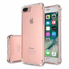 Shockproof Case For iPhone 7 Plus Clear TPU Silicone Bumper Hard Back