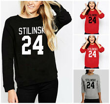 Autumn Winter Teen Wolf Stiles Stilinski 24 Sweatshirt Ladies Jumper for Women