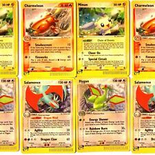 Pokemon Cards - EX HOLO / REVERSE HOLOs – SECRET RARES, Rares, Uncommons