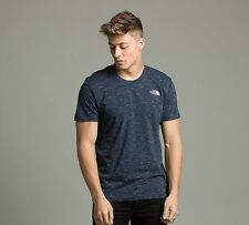 The North Face Simple Dome T-Shirt Navy / White Sizes XS-XL