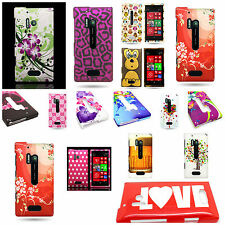 Quality Hard Snap On Plastic Phone Cover Case With Design for Nokia Lu