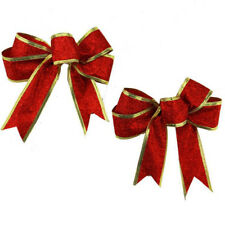 Bows Bowknot Present Xmas Decoration Ornament 3 color Christmas Tree Party Gift