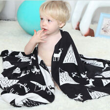 Baby Kids Warm Air Conditioning Blanket Cotton Knitted Office Shawl for Bed Sofa