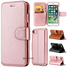 Luxury Flip Cover Wallet Card Leather Phone Case Stand for Apple iPhon