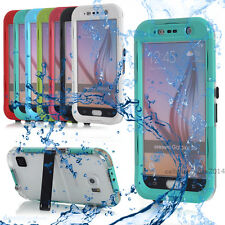 Waterproof Shockproof Back Clear Case Hard Cover Skin For Samsung Gala
