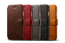 Luxury Flip Leather Wallet Card Slot Case Stand Cover For Apple iPhone