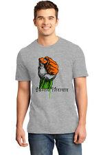 T Shirts for Men Independence day t shirts inquilab zindabad IDT02_Grey