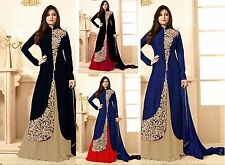 pakistani Indian Bollywood Designer Salwar Kameez anarkali suit dress FASHION c1