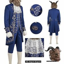 Bella e La Bestia Vestito Costume Carnevale Uomo Beauty and the Beast BEAST10