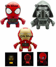 BulbBotz Marvel SpiderMan, Avengers Iron Man, Star Wars Kylo Ren In Box