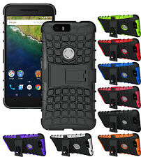 GRENADE GRIP RUGGED TPU SKIN HARD CASE COVER STAND FOR HUAWEI GOOGLE N