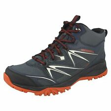 Mens Merrell Capra Bolt Mid Gore-Tex Waterproof Lace Up Ankle Boots J35719