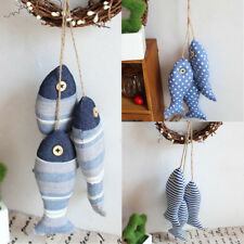Handcrafted Mediterranean Fish Nautical Home Decorative Hanging Ornament