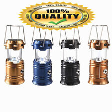 Solar Lantern Rechargeable 4 in 1 LED With Flashlight Inbuilt USB Mobile Charger