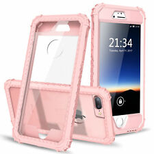 Shockproof Hybrid Hard Back Protective Case Cover For Apple iPhone 7 /