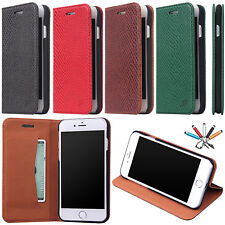 Shockproof Leather Card Wallet Case Luxury Stand Flip Cover For iPhone