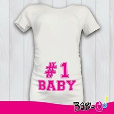 """T Shirt Maglia Premaman """"Number One"""""""