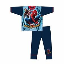 Boys Marvel Spiderman Homecoming New Movie Pyjamas Pjs Nightwear Age 4-10 Years