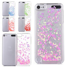 Dynamic Liquid Bling Glitter Quicksand Heart Hard Case Cover For iPod