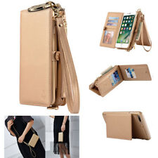 Genuine Leather Coke Wallet Purse Flip Women Case Cover For iPhone 6S