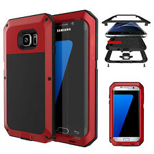 Aluminum Metal Armor Shockproof  Bumper Case Cover for Samsung Galaxy
