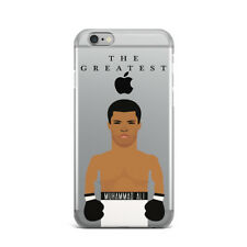 Muhammad Ali Ultra Thin Rubber Gel Silicone Case For Apple iPhone 4S 5