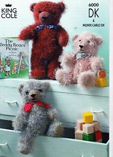 King Cole Knitting & Crochet Patterns Baby Adult Novelty NEW REDUCED